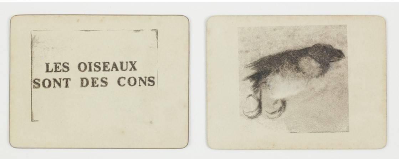 Jean-Luc Verna - A Chaval 2019, transfert sur papier, rehaussé de vrayons et fards, 30.2 x 46.7 cm. Courtesy Galerie Air de Paris