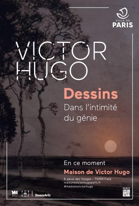 Affiche Victor Hugo Dessins